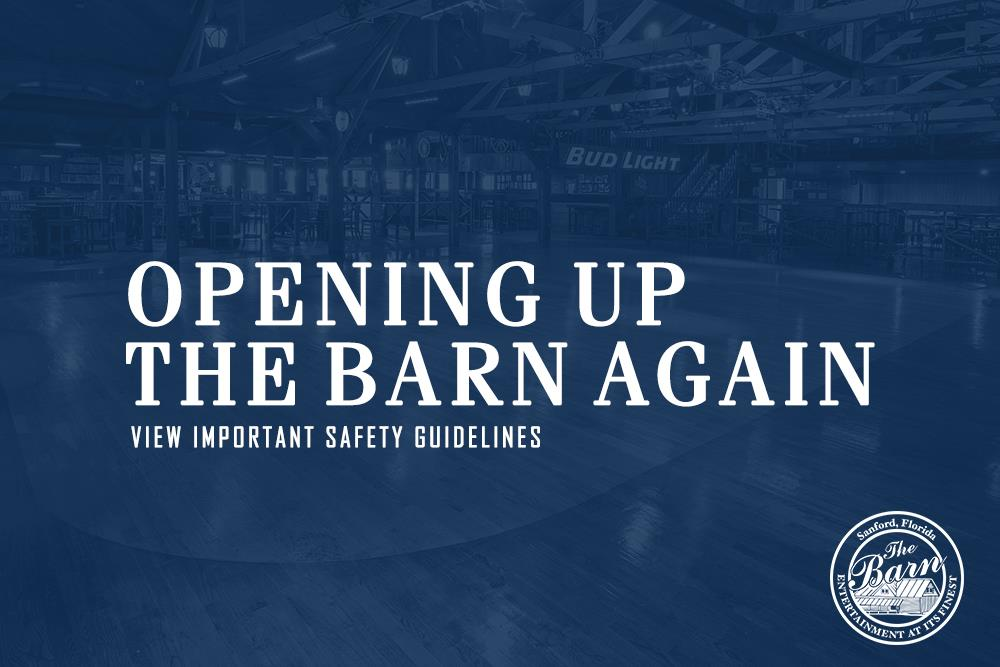 Opening The Barn Again