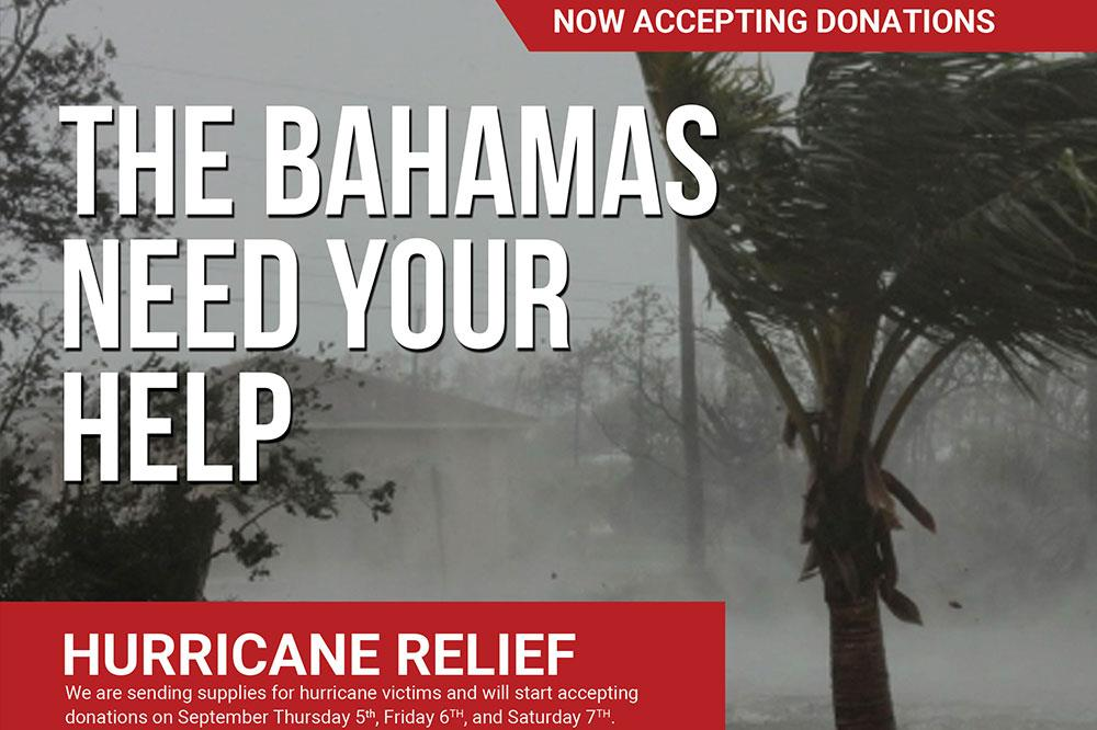 Hurricane Dorian Disaster Relief